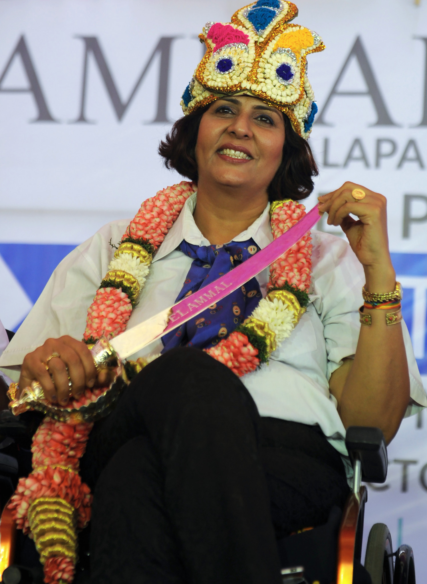 Deepa Malik was the only Indian woman to win a medal at the 2016 Paralympic Games in Rio de Janeiro ©Getty Images