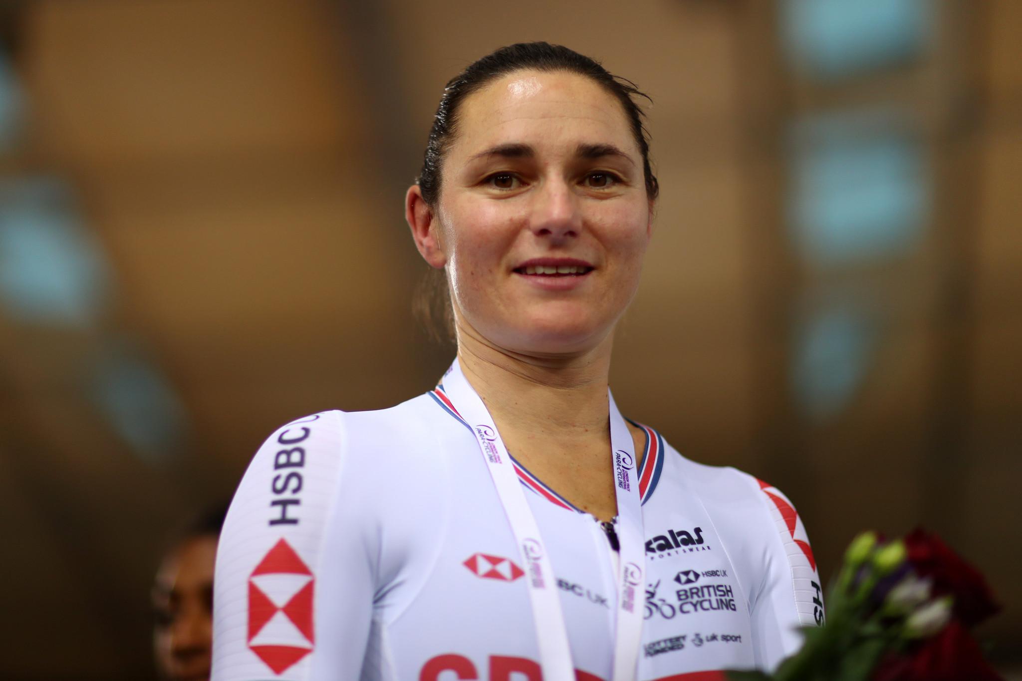 Storey and Petricola claim golden hat-tricks at Para-Cycling Track World Championships