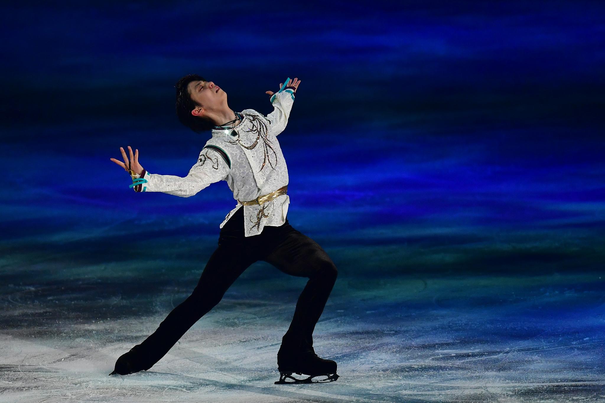 Hanyu to return to Olympic-winning figure skating programme