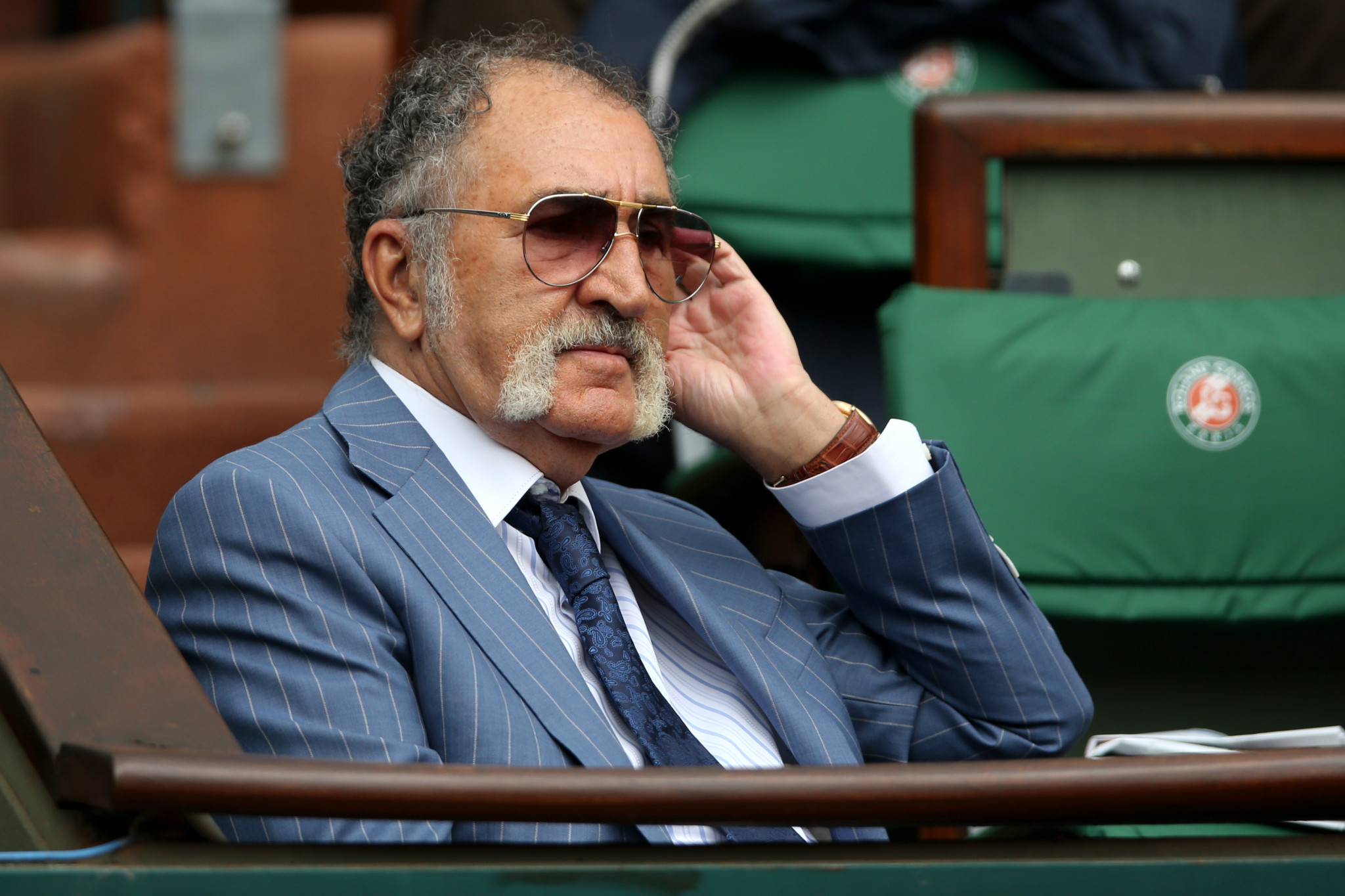 Ion Tiriac won five Universiade medals for Romania ©Getty Images
