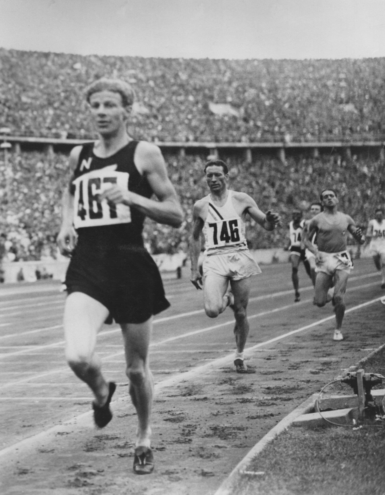 Jack Lovelock will be remembered for his Berlin 1936 performance ©Getty Images