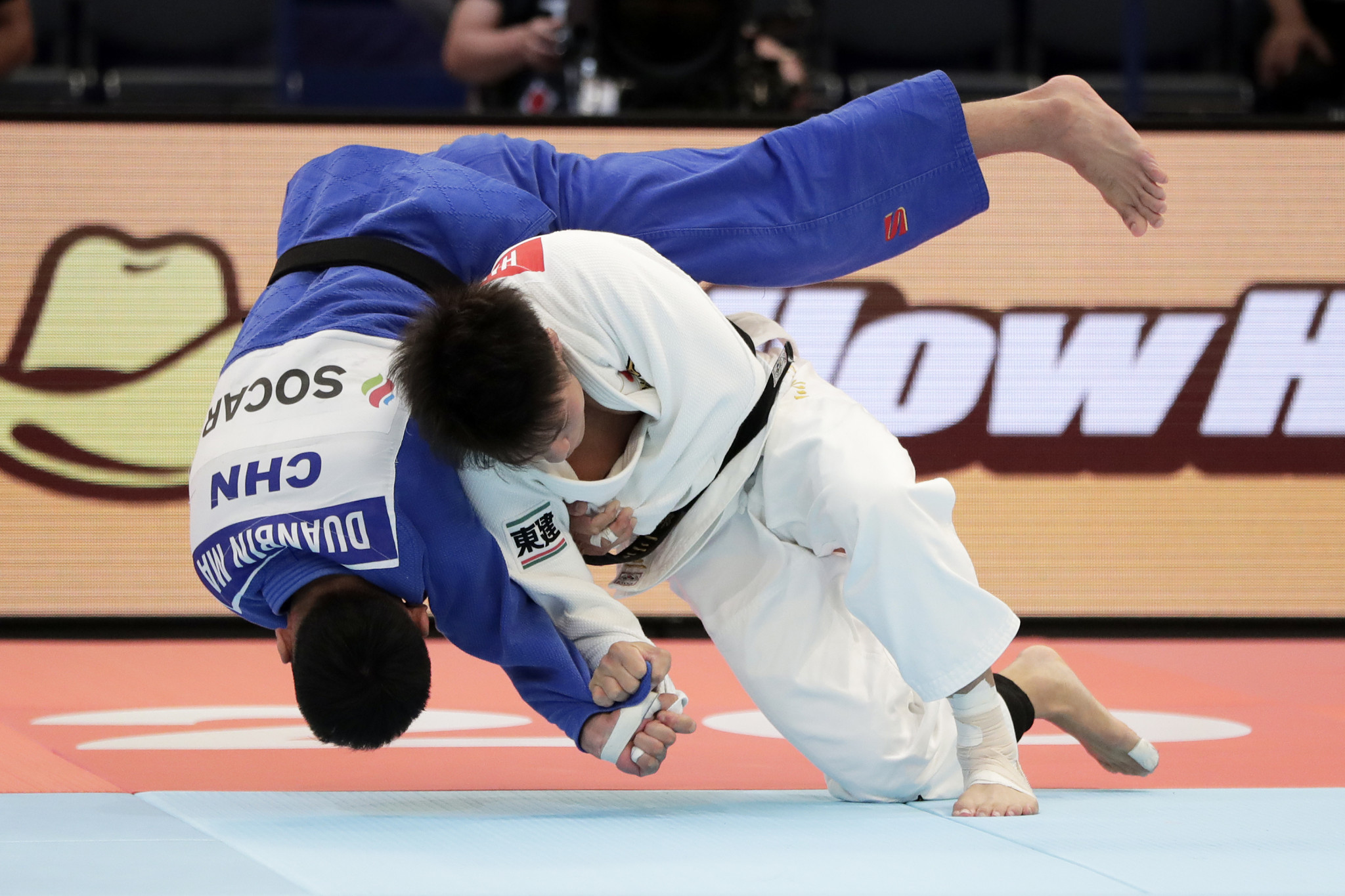 Chinese judoka won't be in Paris ©Getty Images