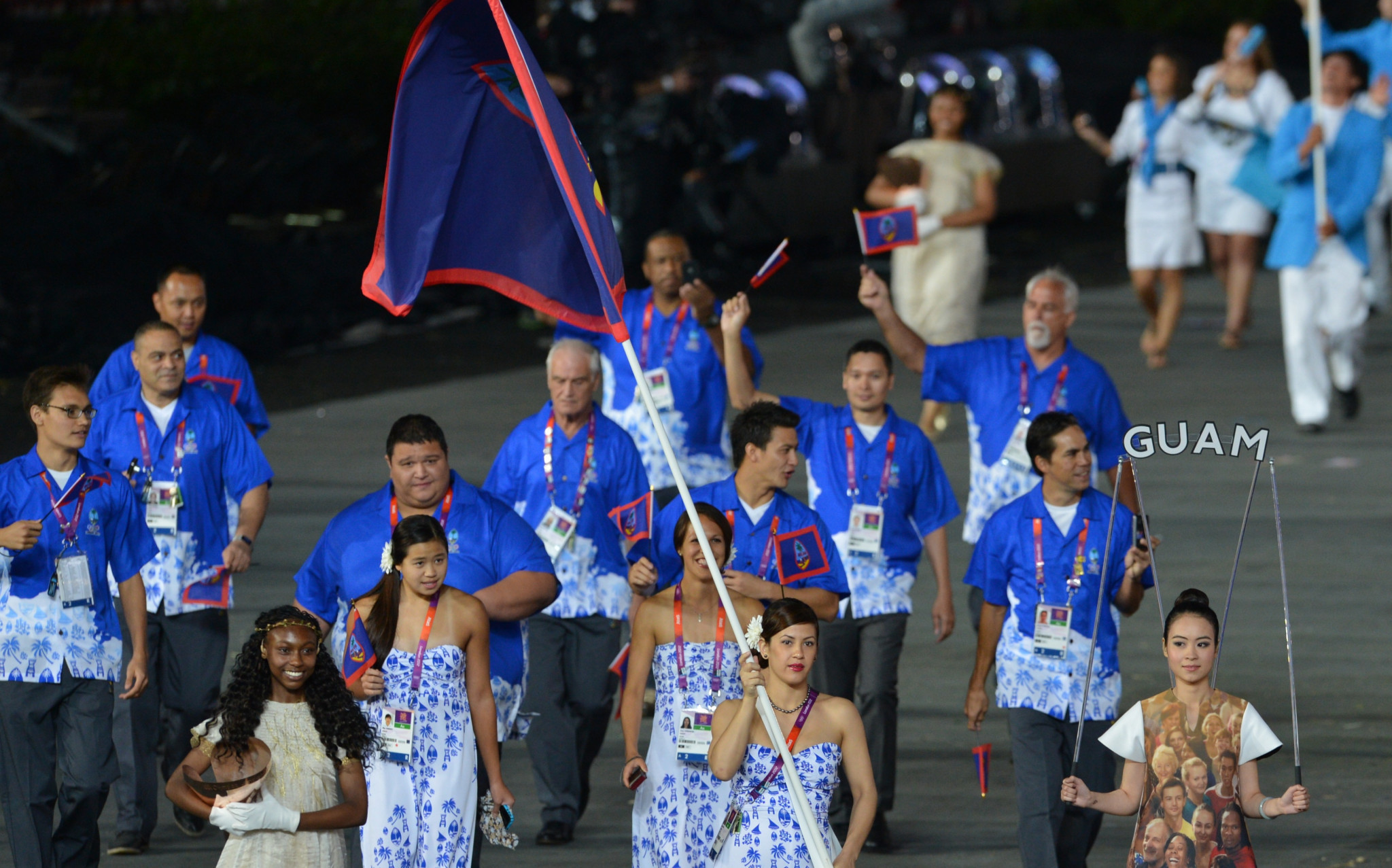 Guam have been represented at the past eight Summer Olympic Games ©Getty Images