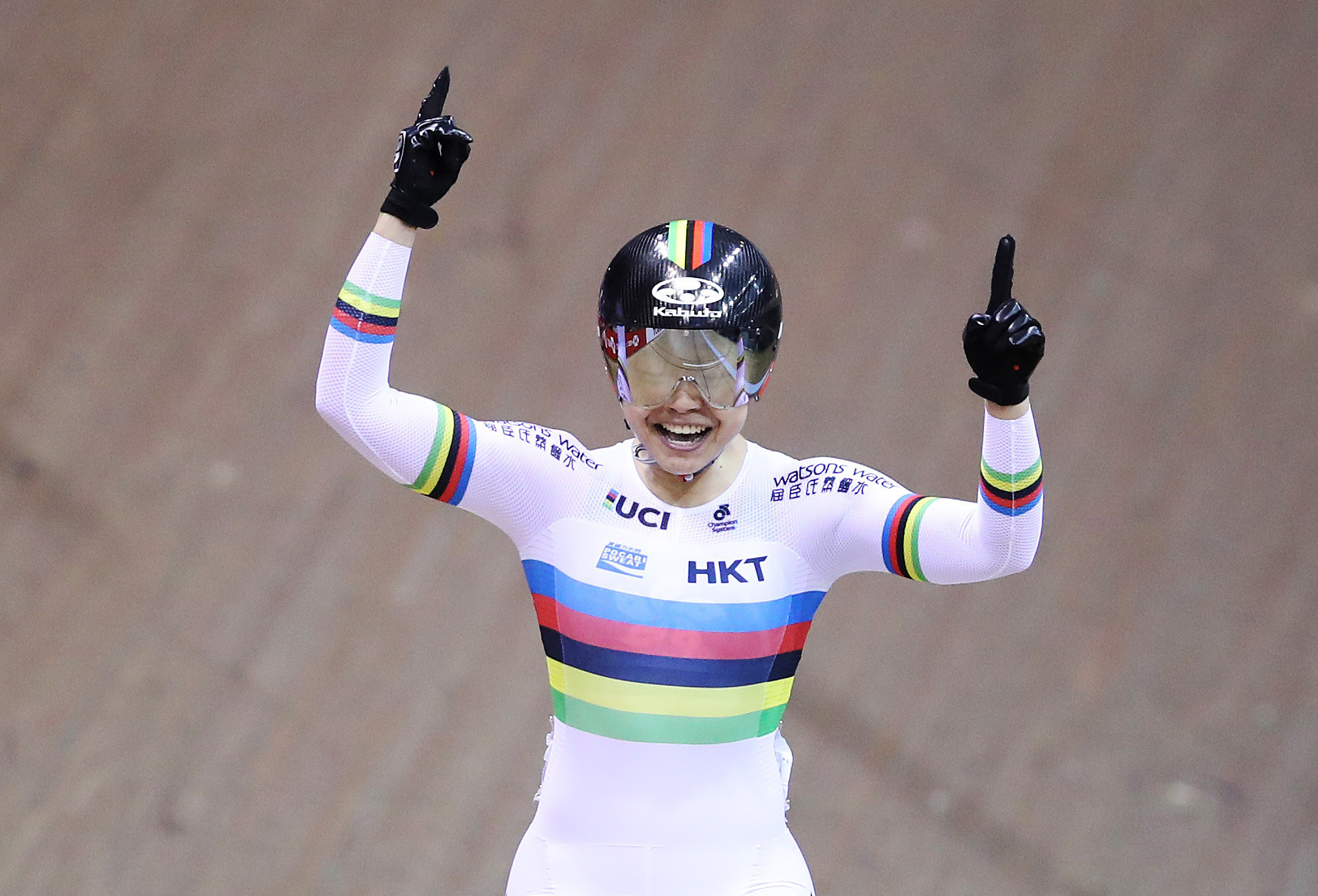 Hong Kong's Lee Wai Sze will aim to defend her world title at the Track Cycling World Championships in Berlin ©Getty Images