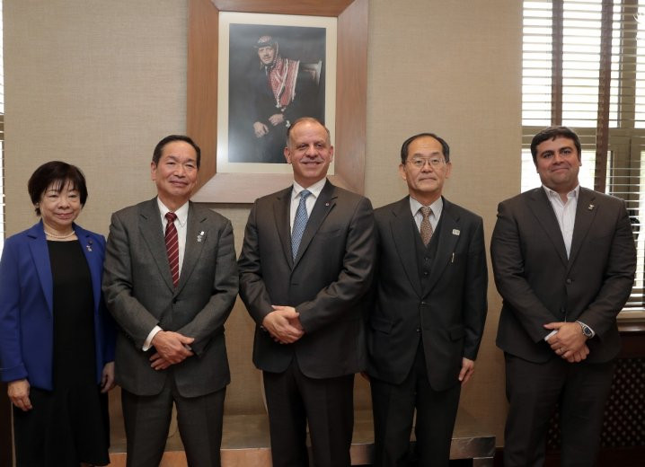 Jordan Olympic Committee welcome delegation from Tokyo 2020 hosts