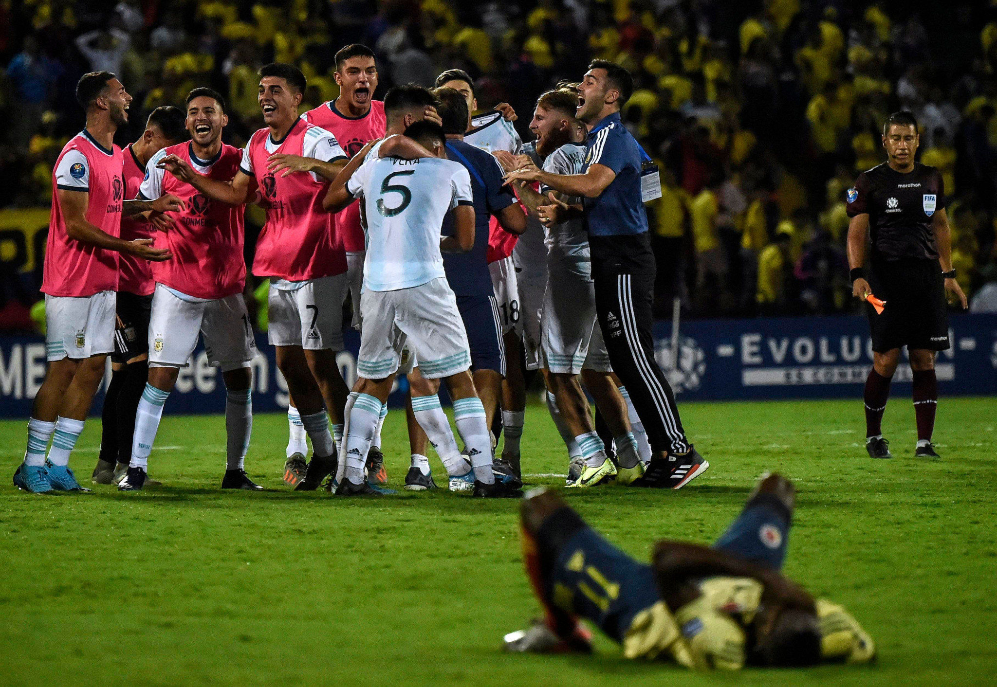 Argentina clinch Tokyo 2020 football qualification as Brazil's place remains in doubt
