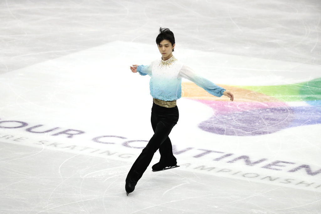 """Hanyu's """"most perfect performance"""" sets record short programme score at ISU Four Continents Championships"""