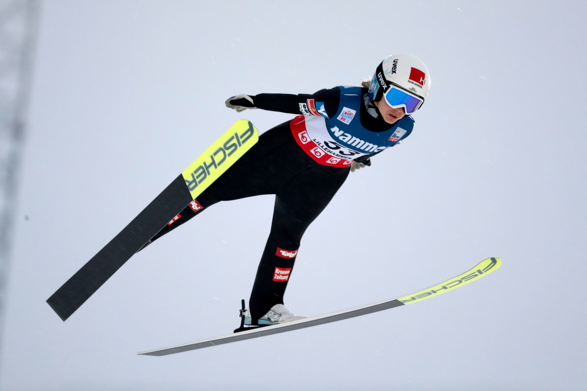 Hölzl extends lead over Lundby at home FIS Ski Jumping World Cup in Hinzenbach