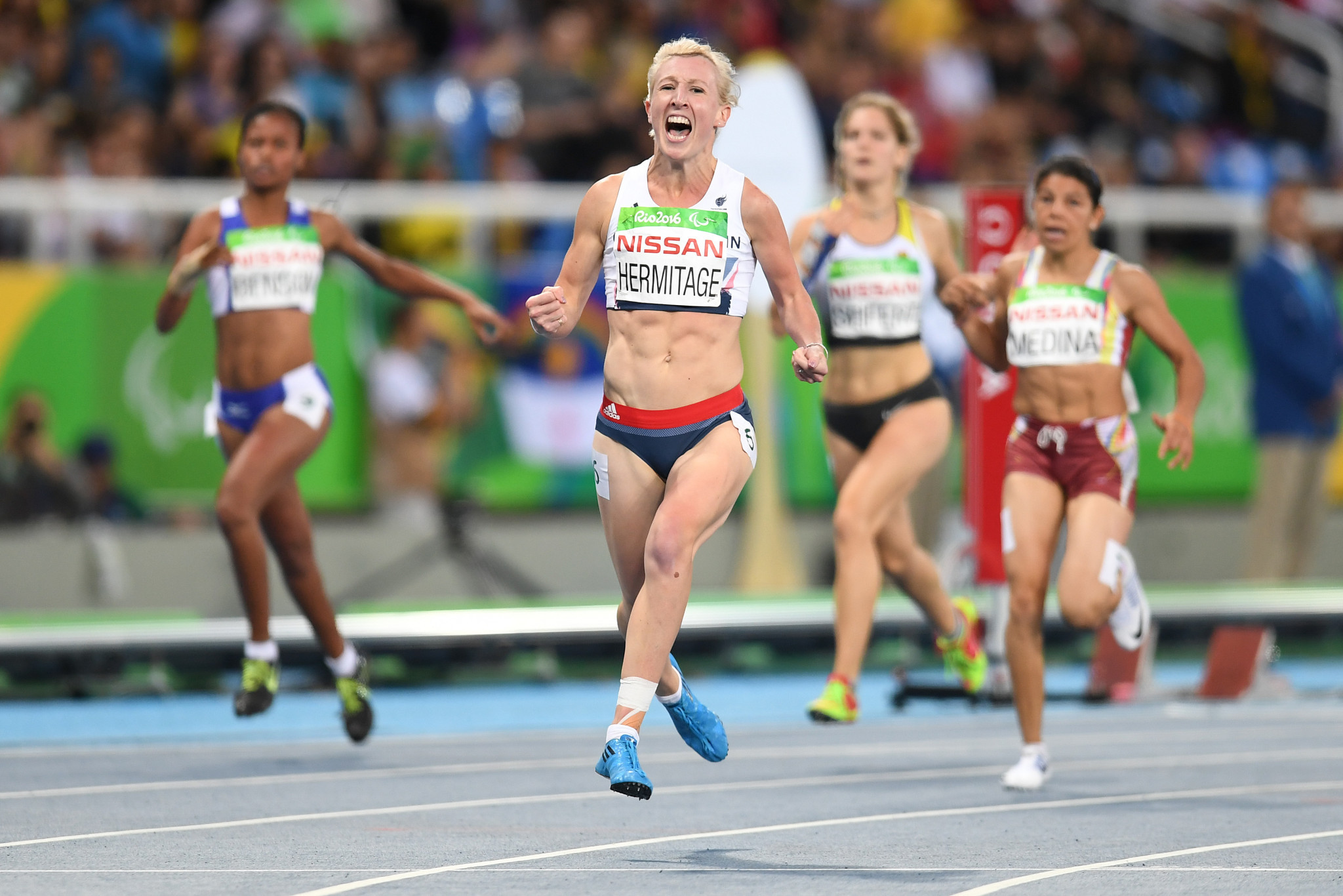 Double Paralympic champion Georgie Hermitage retires