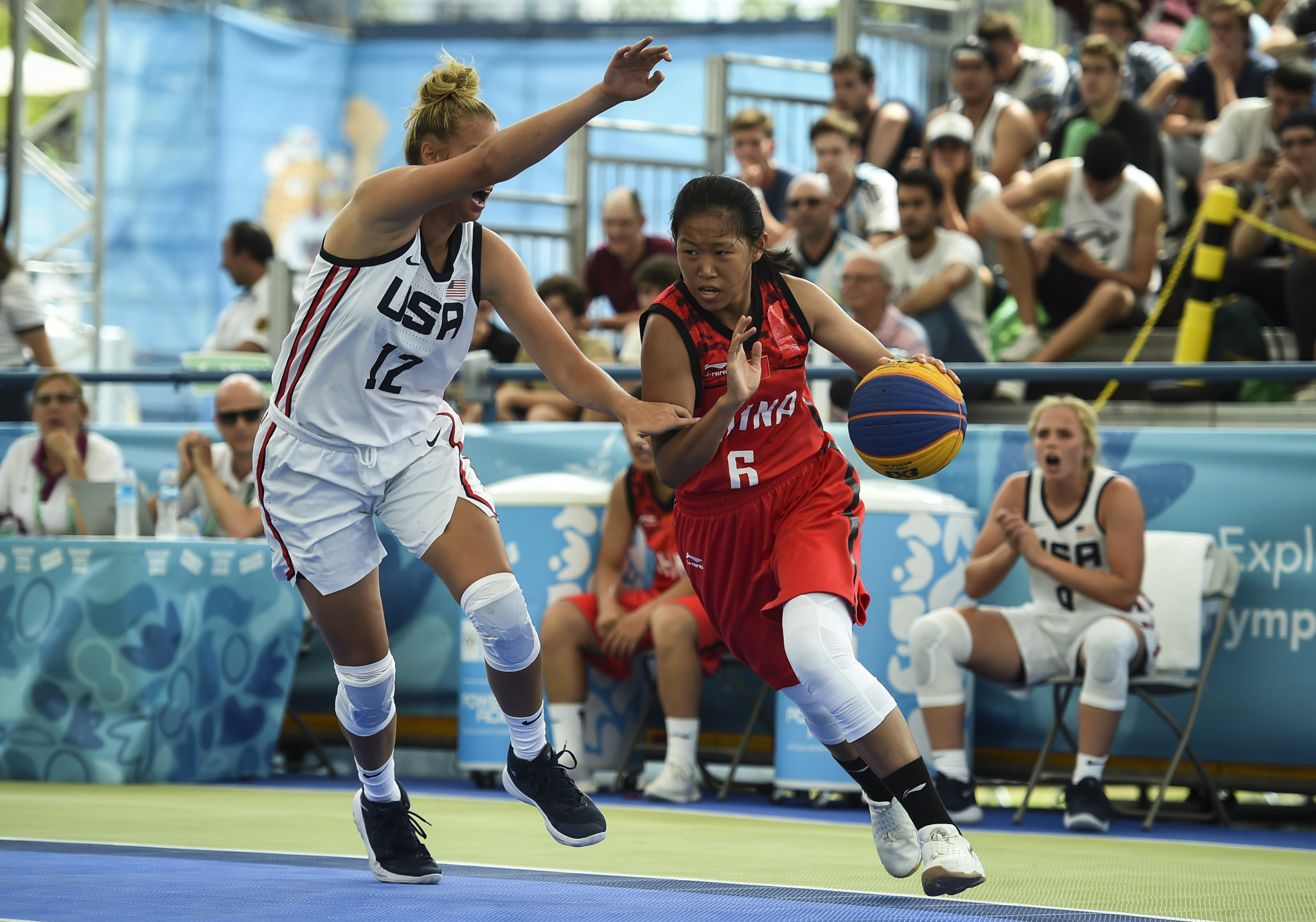 Multi-sport events have increasingly placed 3x3 basketball as part of an urban park concept ©Getty Images