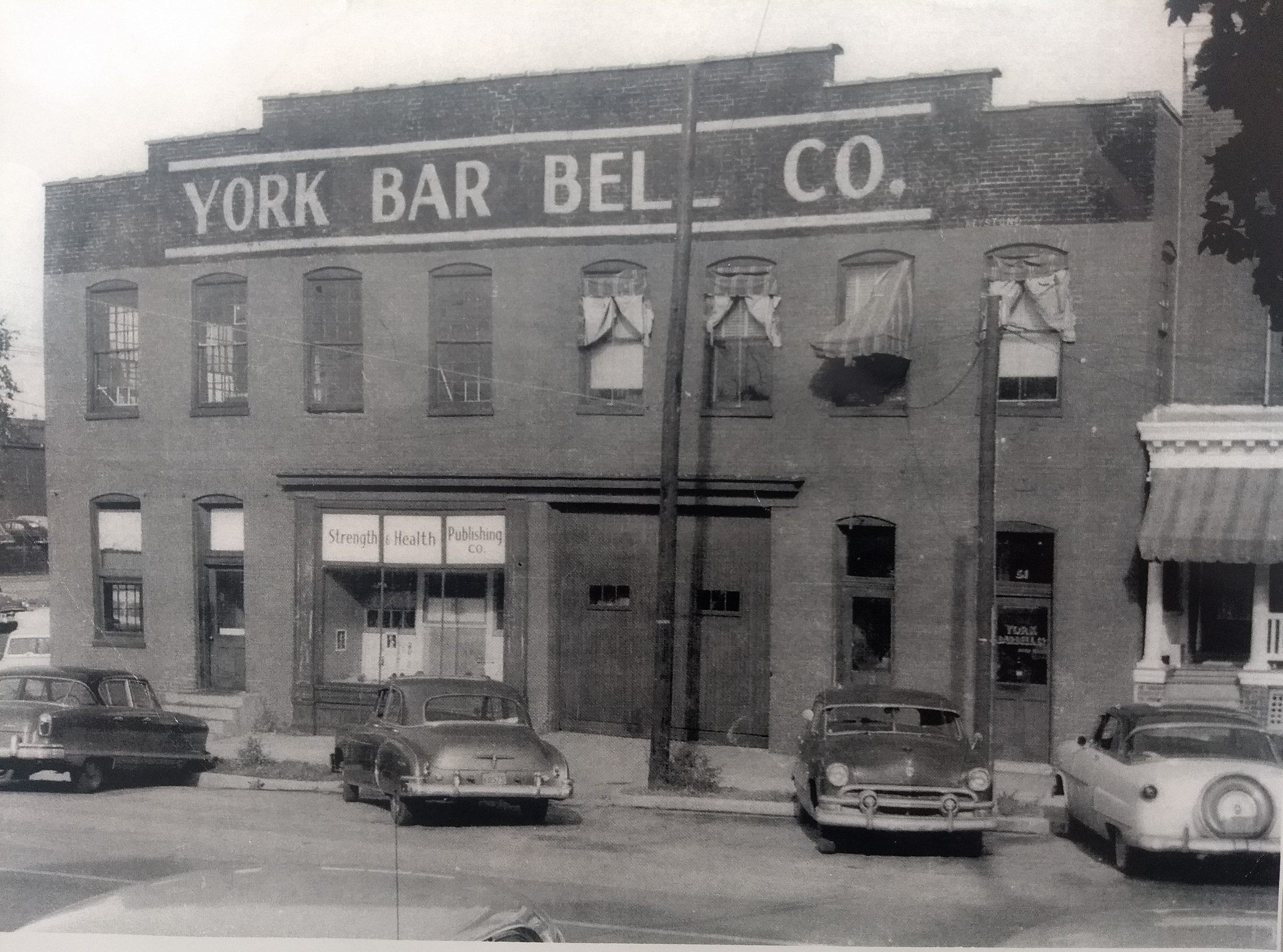 The York Barbell building ©Murray Levin