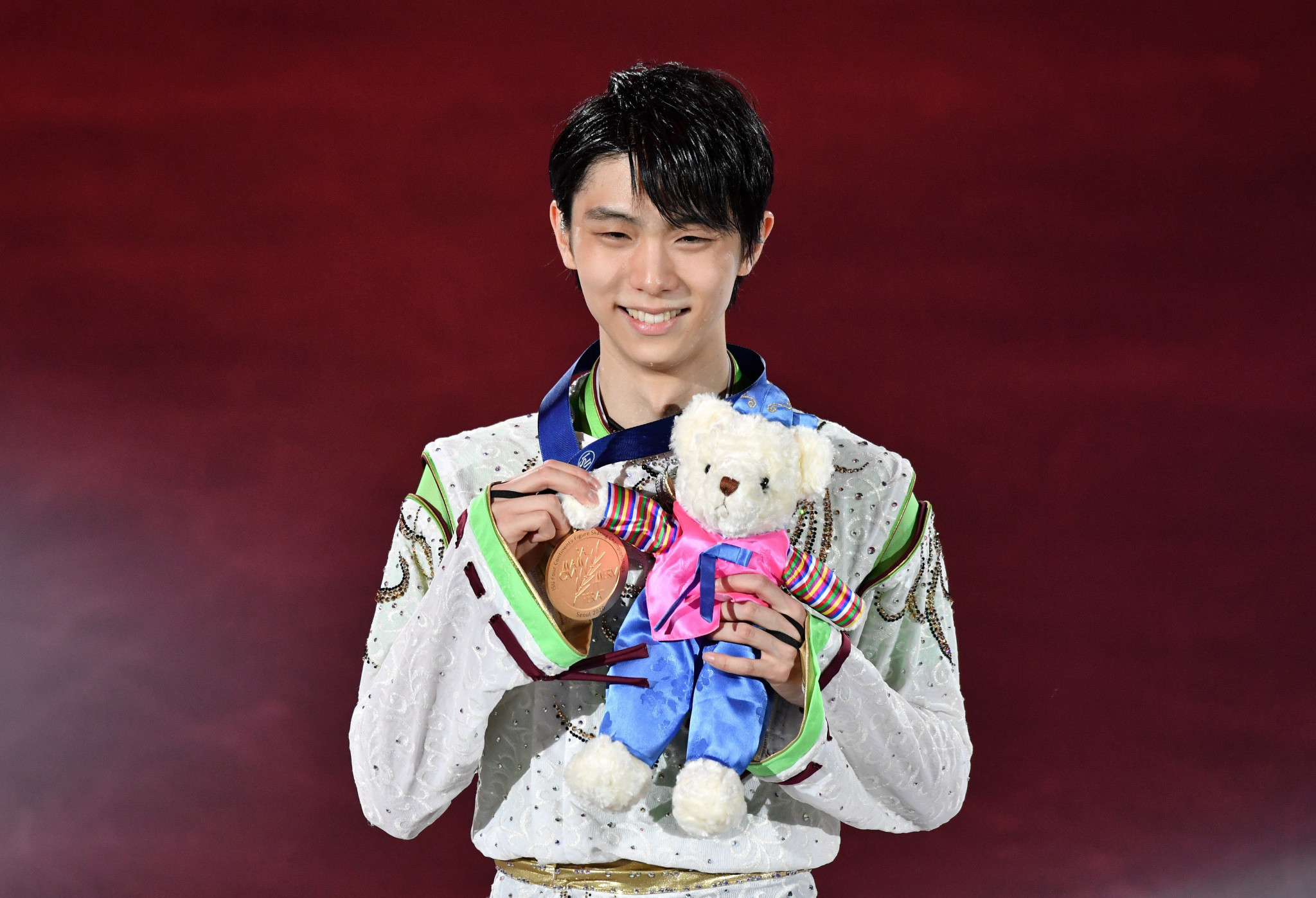 """Hanyu completes """"super slam"""" with victory at ISU Four Continents Figure Skating Championships"""