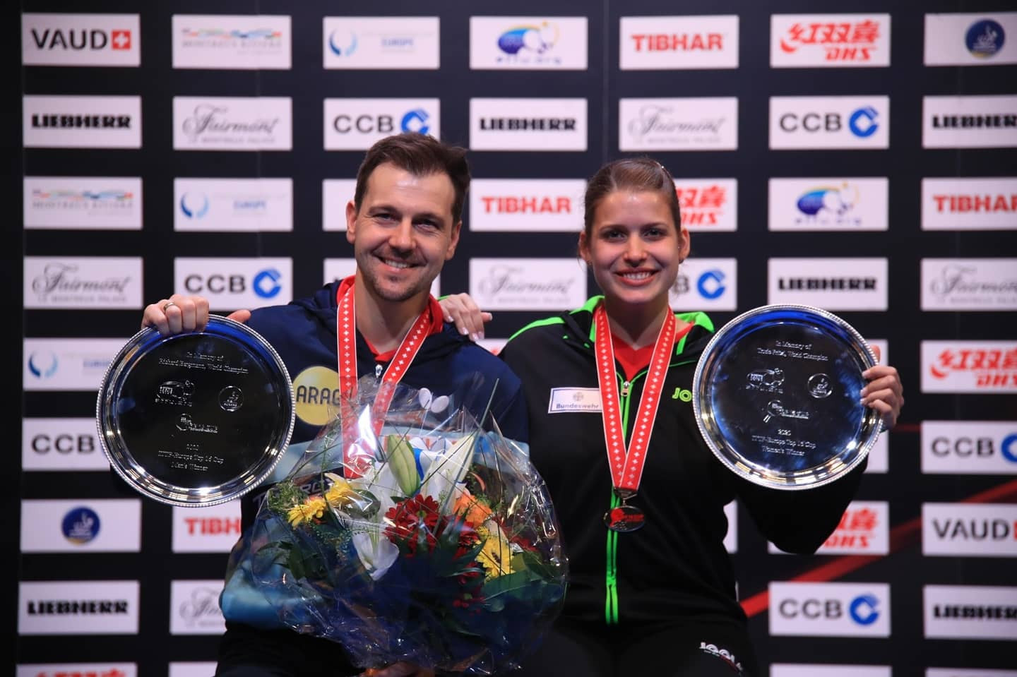 Germans win double gold at ETTU Europe Top 16 Cup