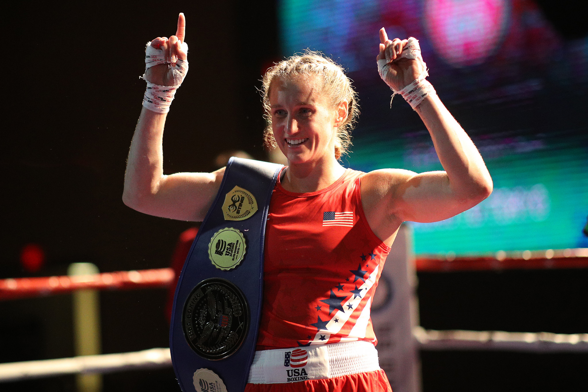 Virginia Fuchs is among the 13 boxers that will represent the United States at the Tokyo 2020 Olympic Qualifying Tournament for the Americas ©Getty Images