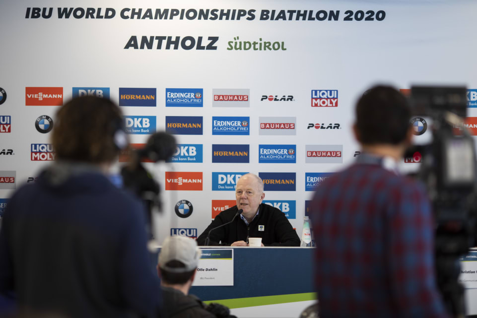 """IBU President predicts """"unforgettable"""" World Championships in Antholz"""