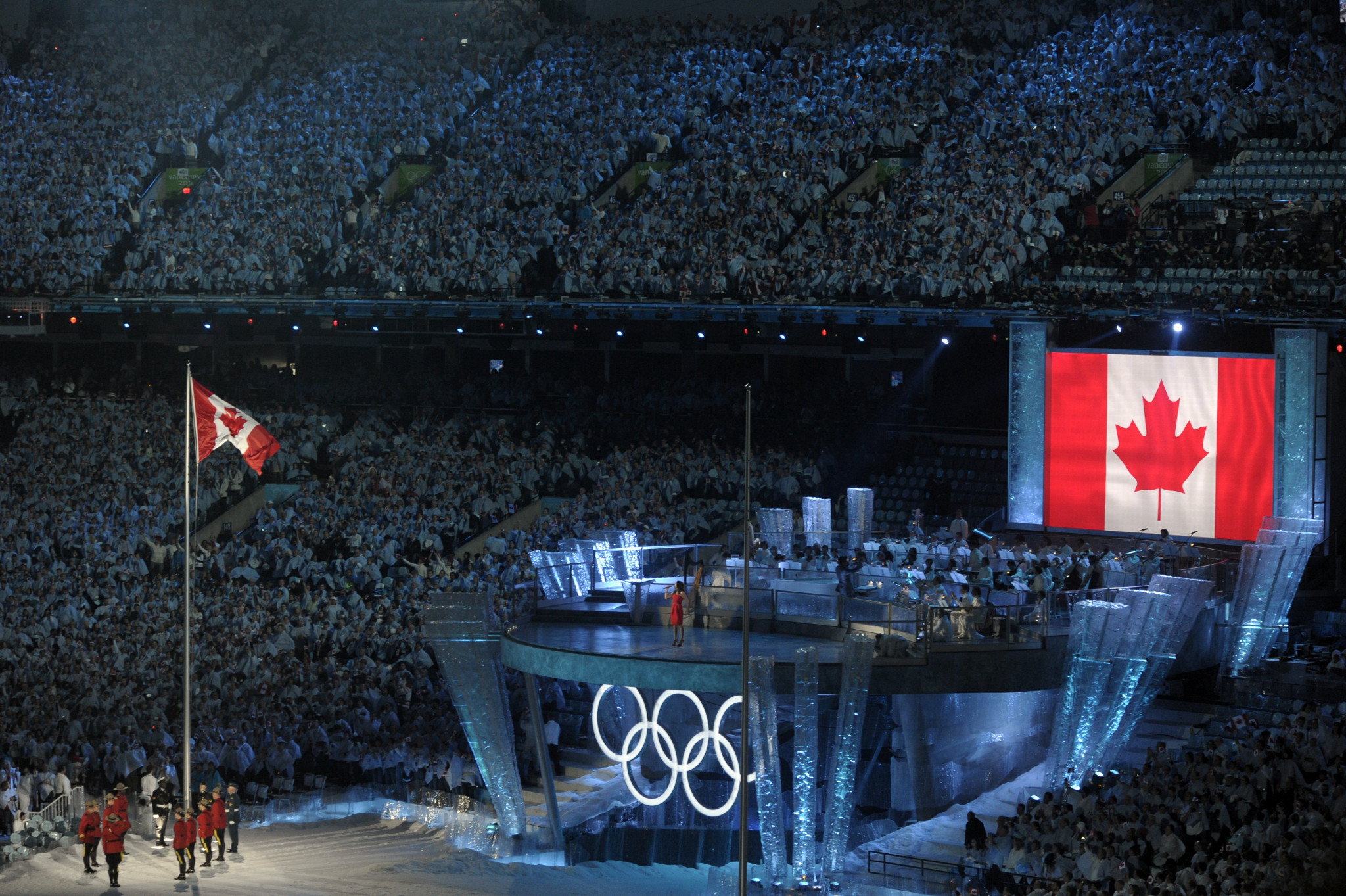 The Vancouver 2010 Winter Olympics opened 10 years ago ©Getty Images