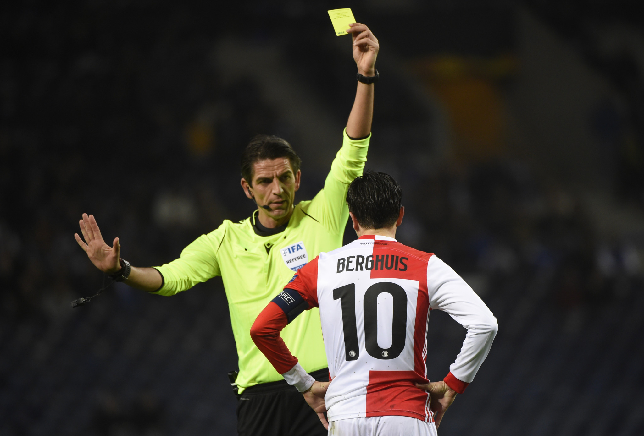 The refereee exchange programme could possibly see a team of UEFA match officials appointed for the group stage of the Copa América ©Getty Images