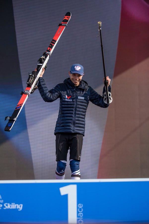Bauchet and Bochet make it back-to-back downhill wins at World Para Alpine Skiing World Cup