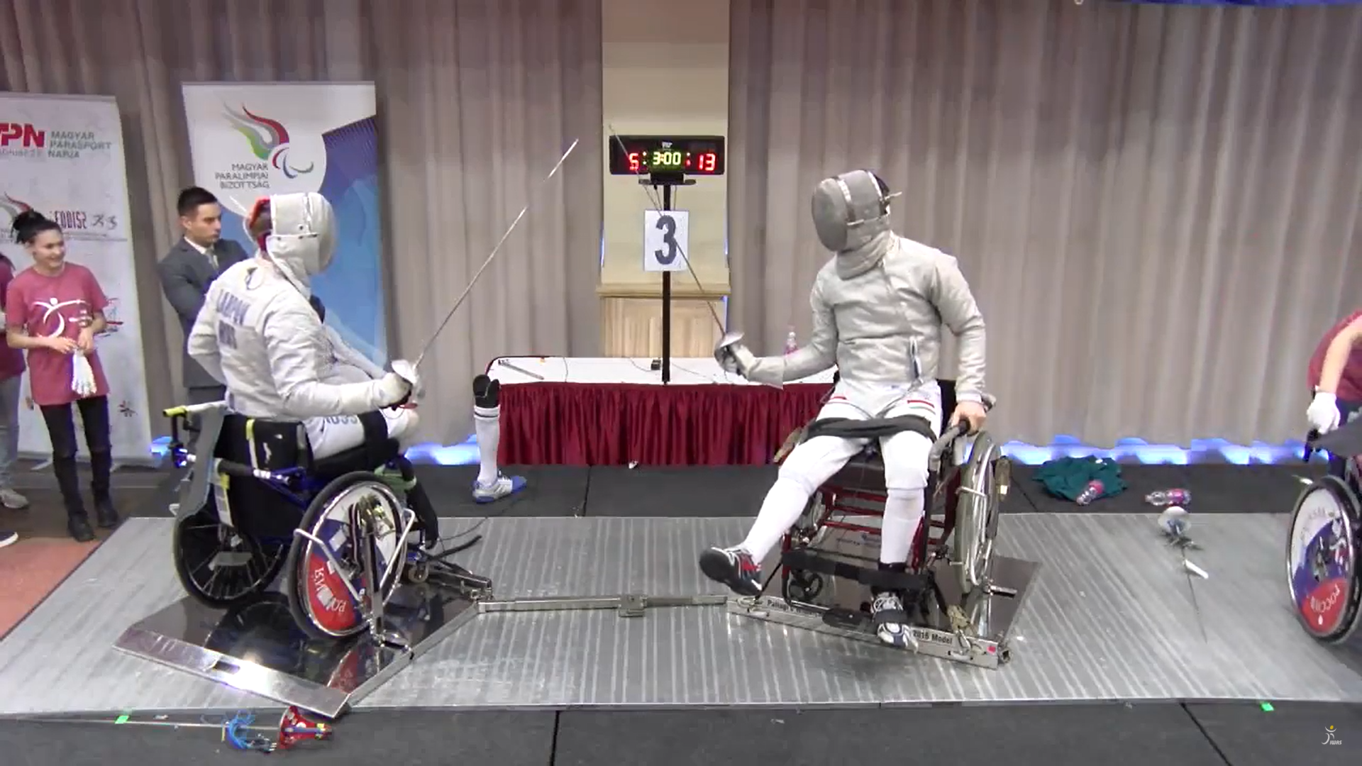 Osvath earns sabre title as IWAS Wheelchair Fencing World Cup season begins in Eger