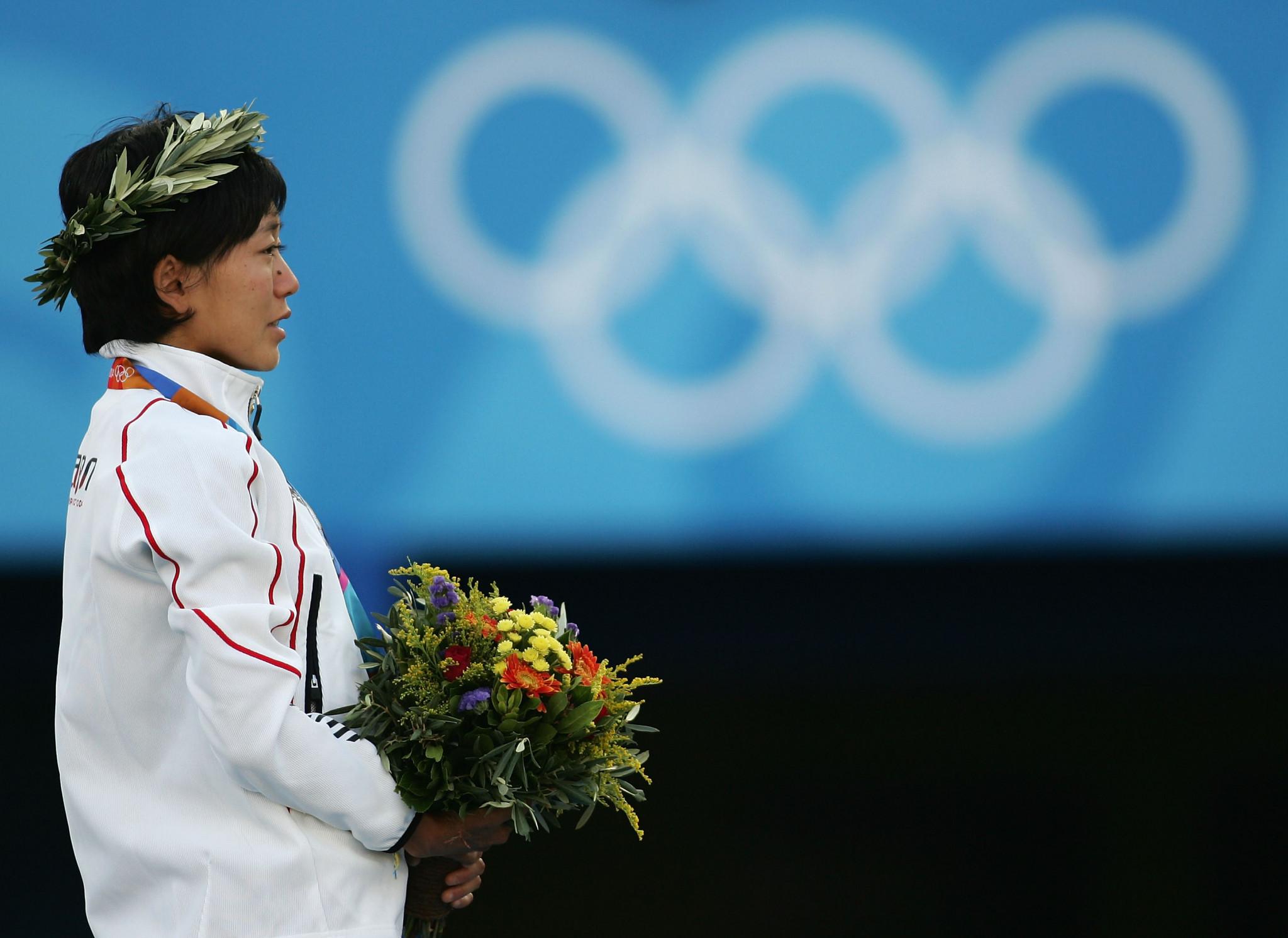 Mizuki Noguchi has fond memories of Greece, having won the women's marathon at Athens 2004 ©Getty Images