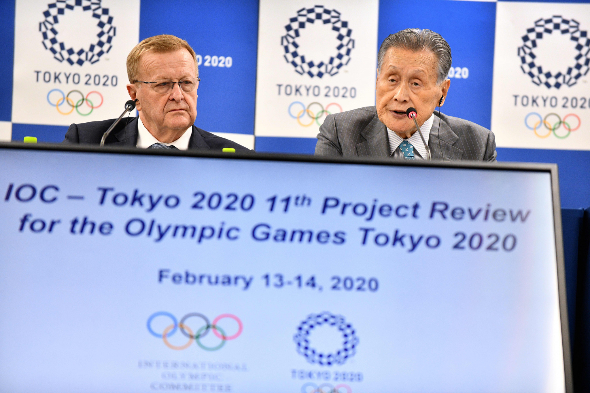 Senior IOC member John Coates played down suggestions Tokyo 2020 could be cancelled or postponed ©Getty Images