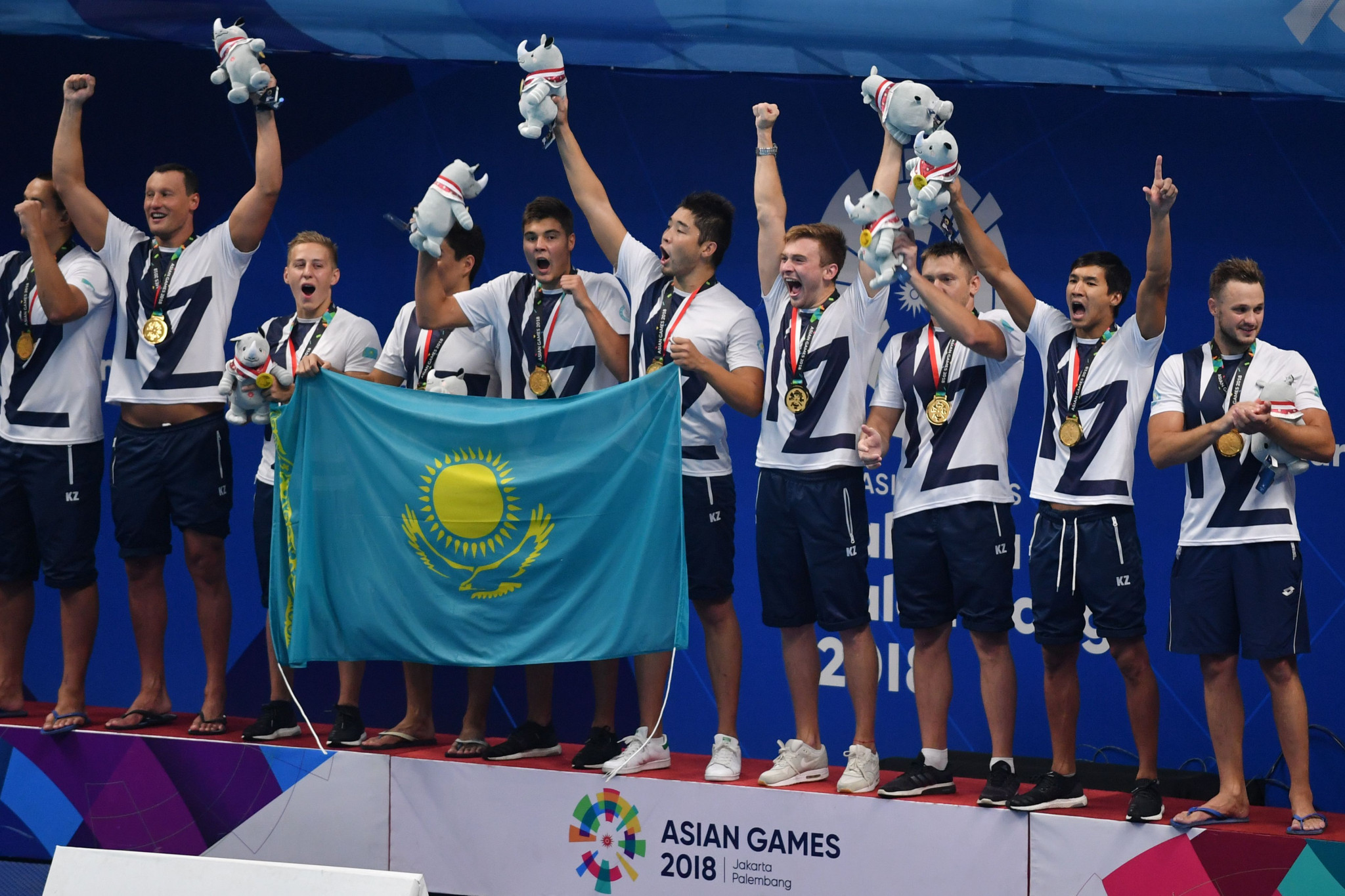 Kazakhstan are set to qualifying for the men's Tokyo 2020 tournament ©Getty Images