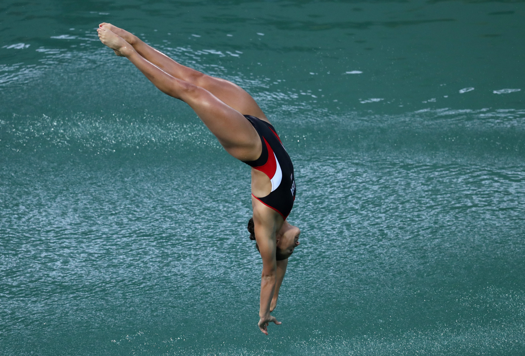 Kassidy Cook of the United States was a clear winner in he women's 3m springboard competition ©Getty Images