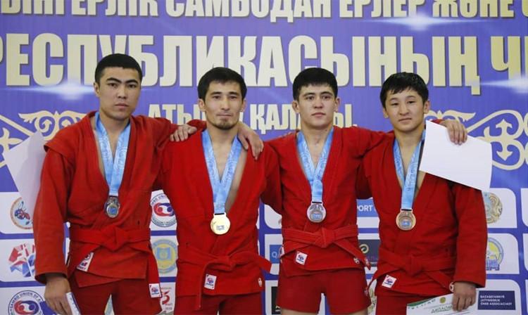 Over 300 compete at Kazakhstan's national Sambo Championships