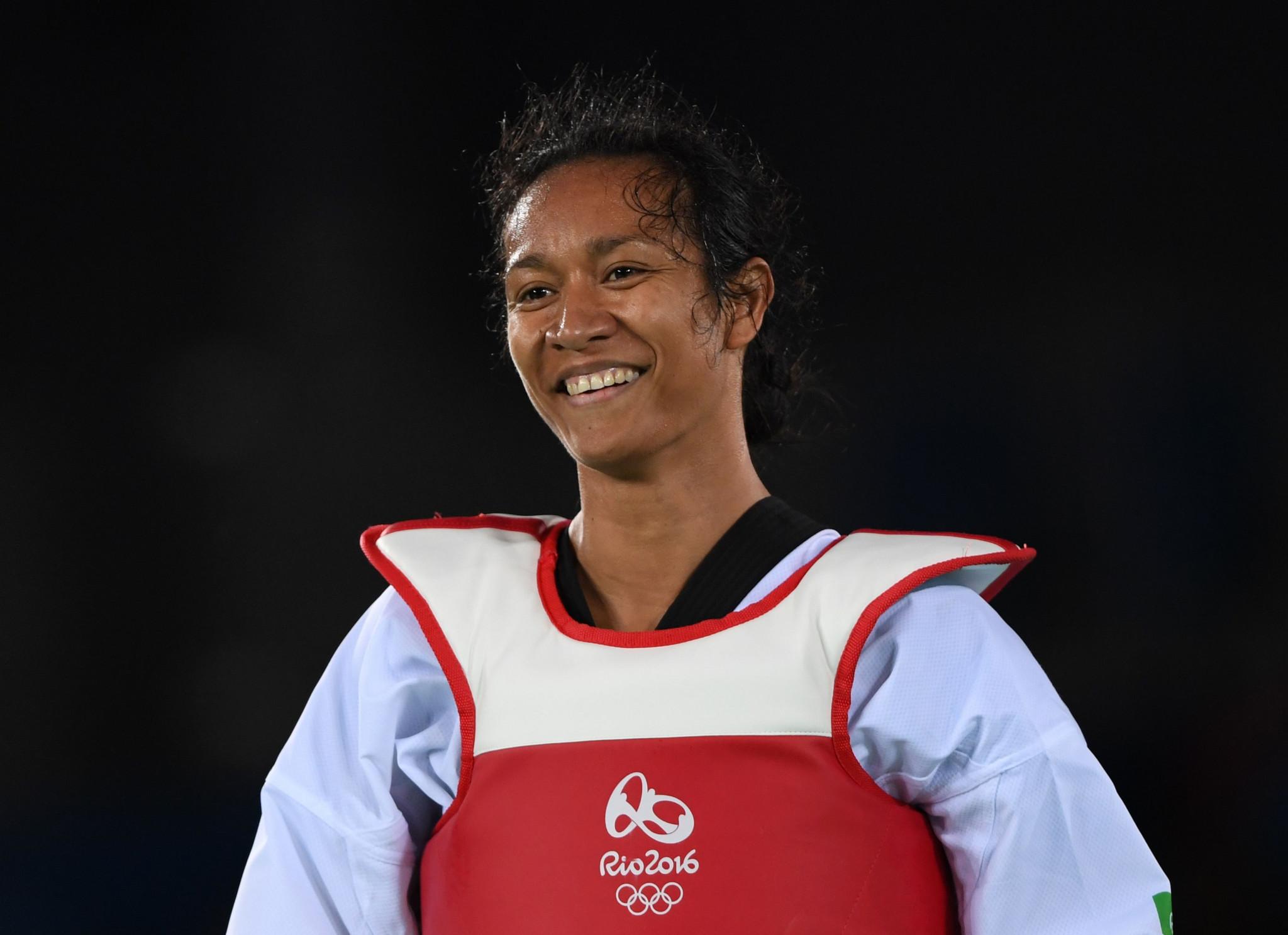 Samantha Kassman was one of Papua New Guinea's taekwondo athletes at Rio 2016 ©Getty Images