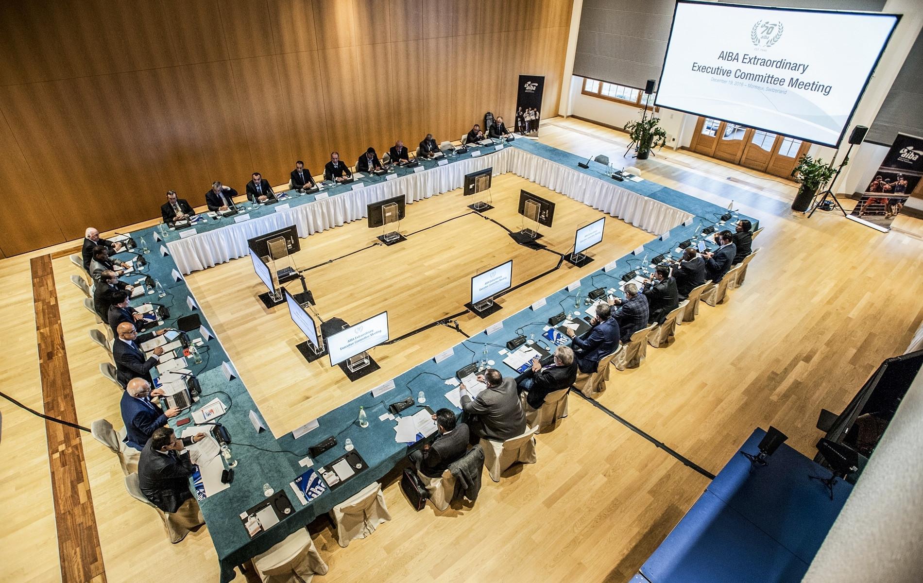 AIBA Congress rescheduled to December