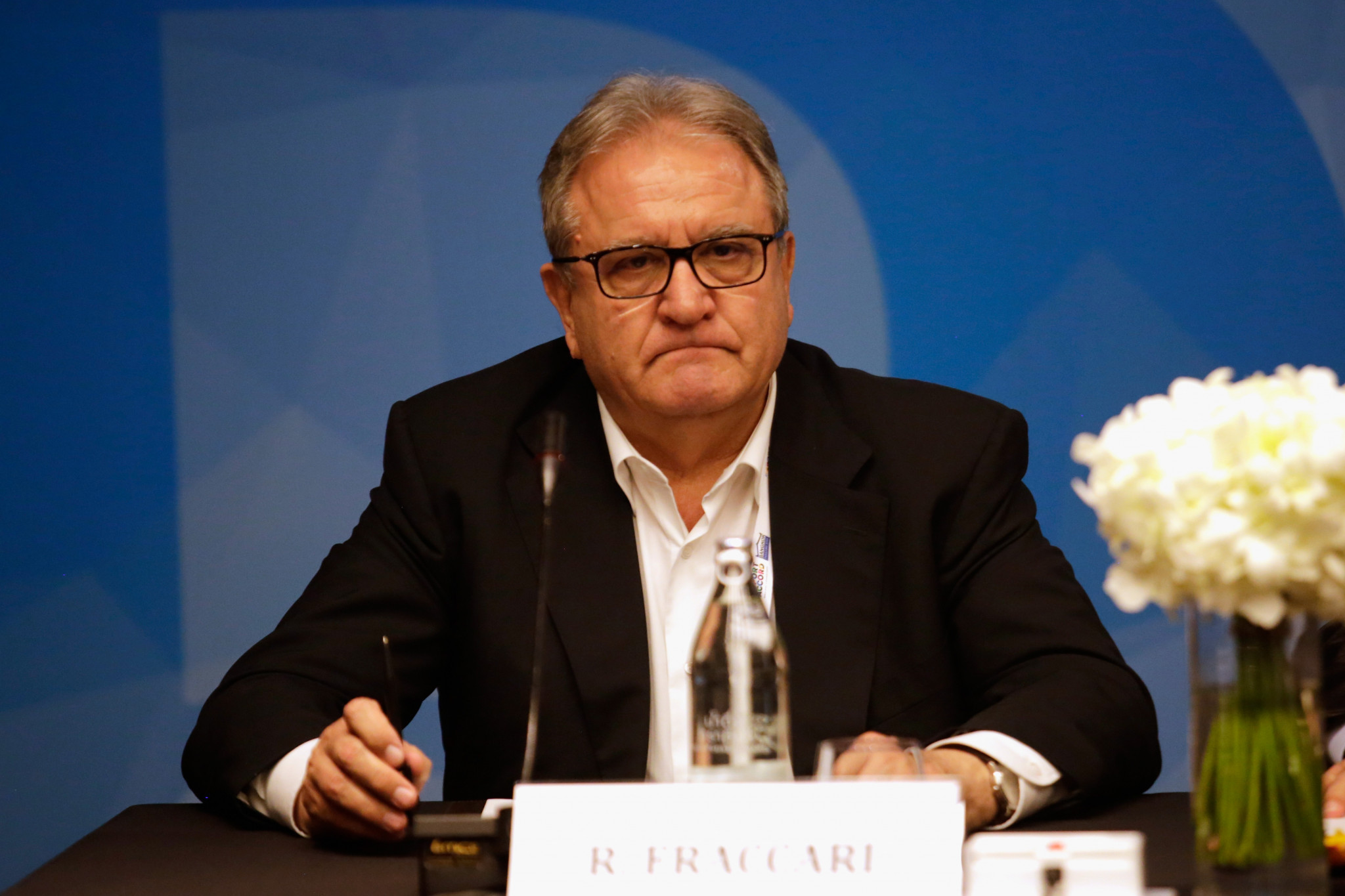 Riccardo Fraccari is the current WBSC President ©Getty Images