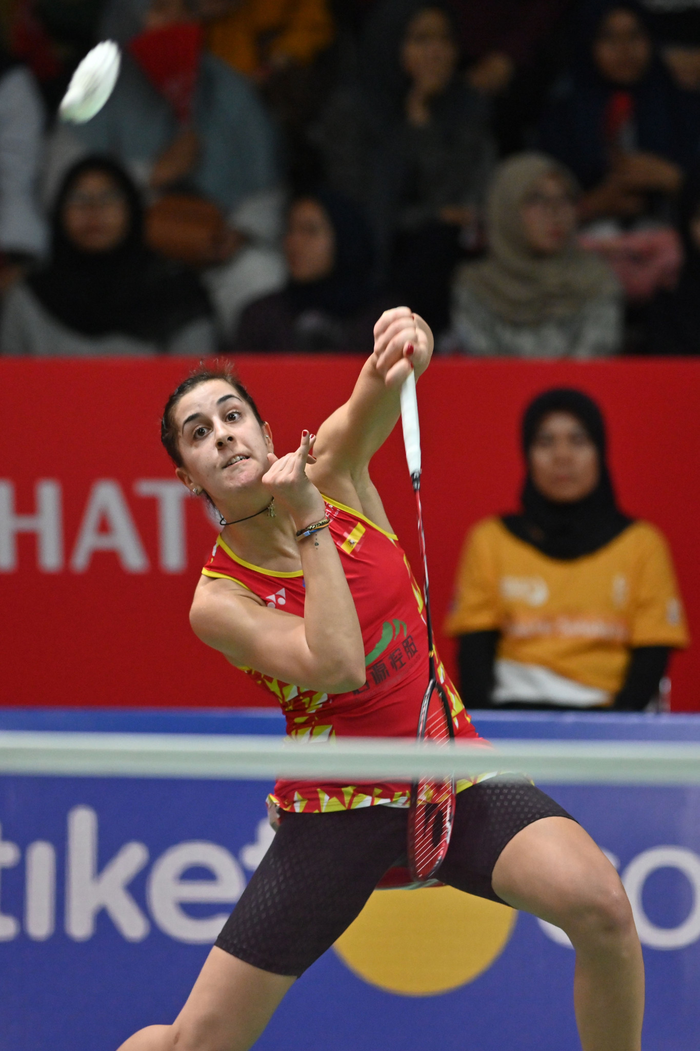Spain's Carolina Marín remains on course to triumph at her home event ©Getty Images