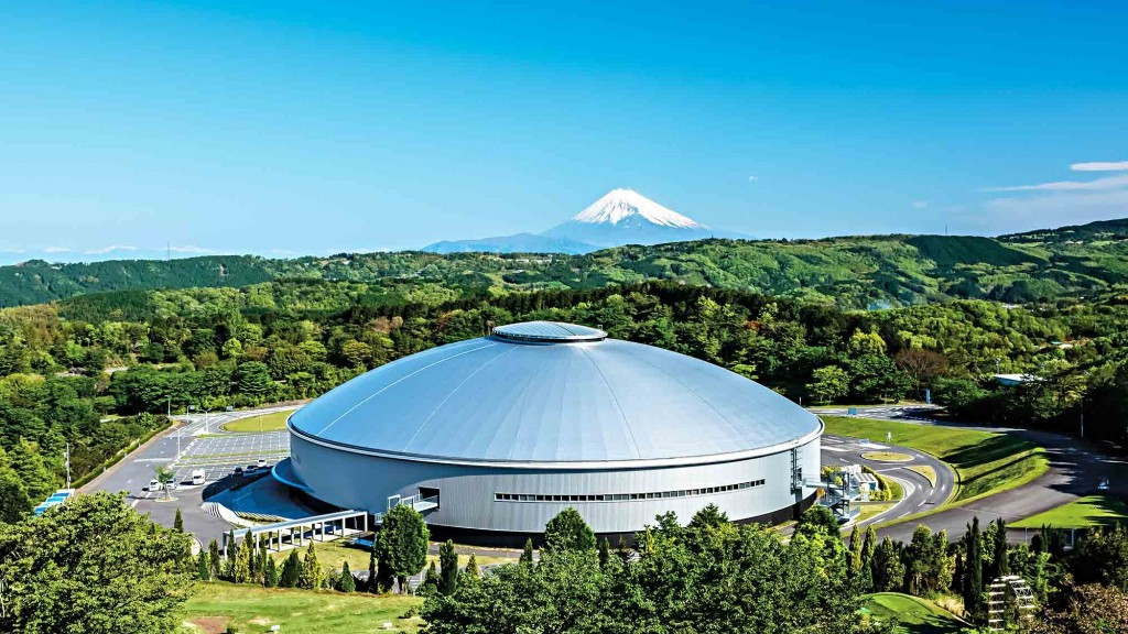 Track cycling at Tokyo 2020 will take place in a remodelled velodrome in Izu ©Gensler