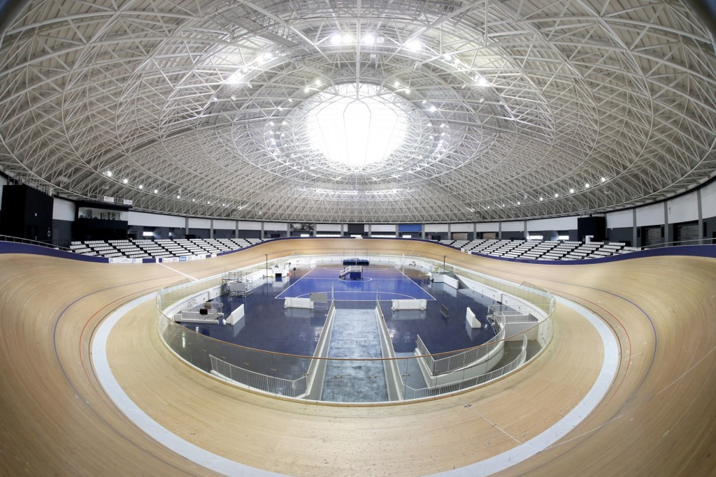 The Izu Velodrome will undergo extensive renovation for the Tokyo 2020 Olympic Games