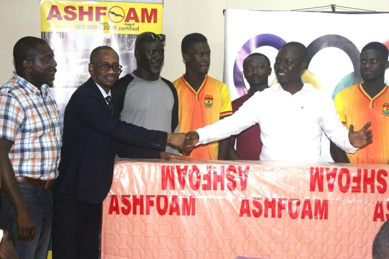 Ghana Olympic Committee signs Tokyo 2020 sponsorship deal with Ashfoam