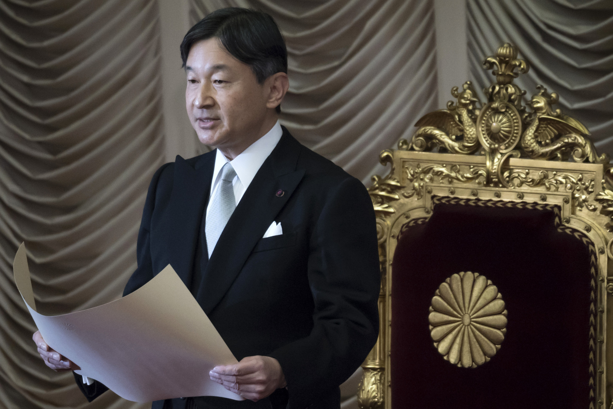 Emperor Naruhito acceded to the throne in May 2019 following the abdication of his father ©Getty Images