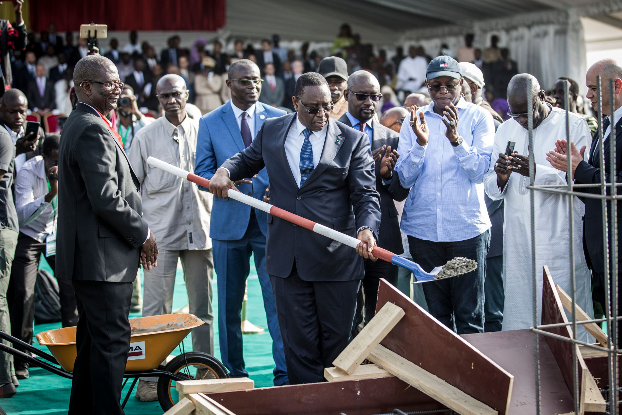 Senegalese President launches construction of 50,000-seat stadium for Dakar 2022