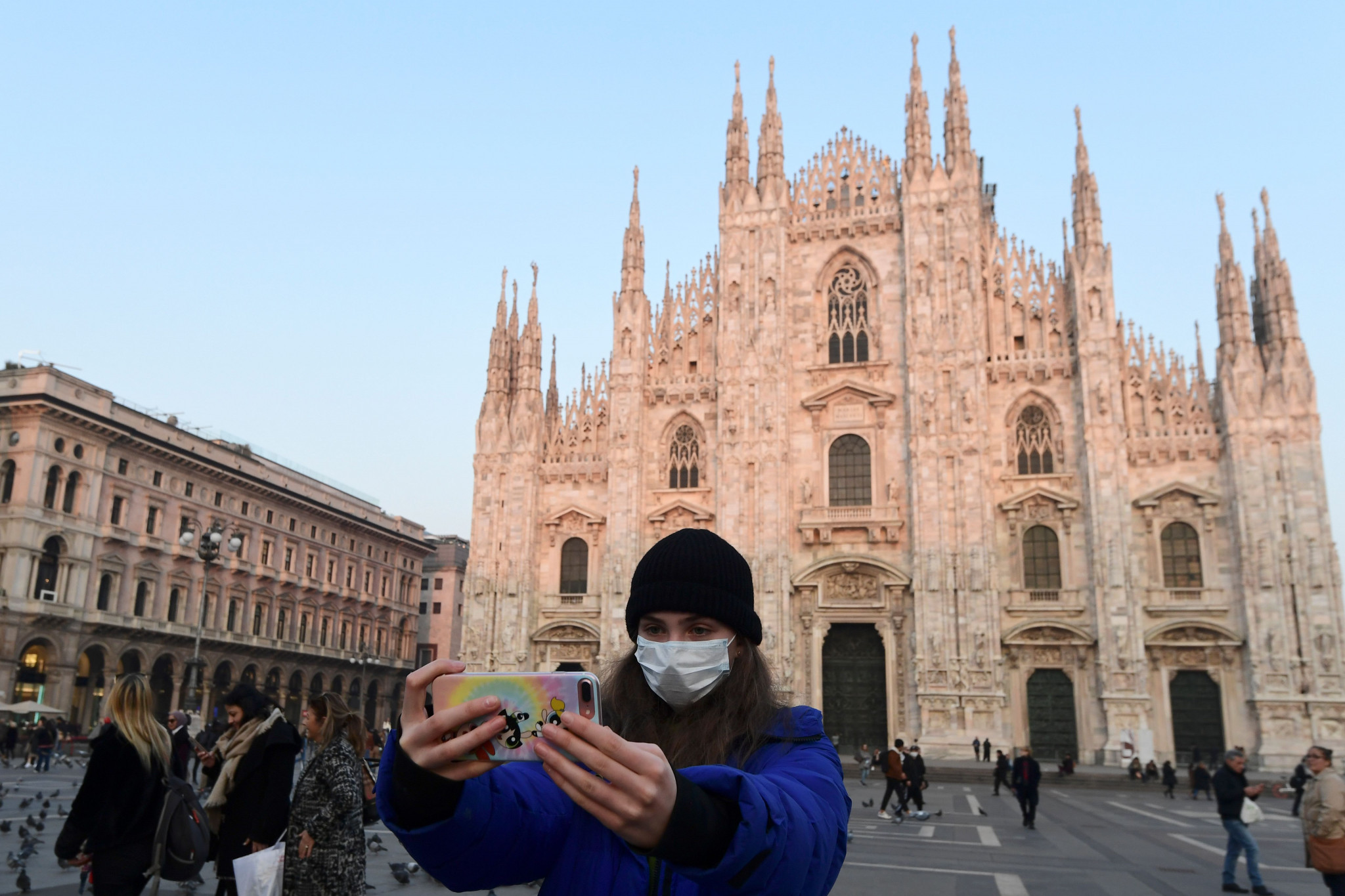 Italy has reported a spike in coronavirus cases ⒸGetty Images