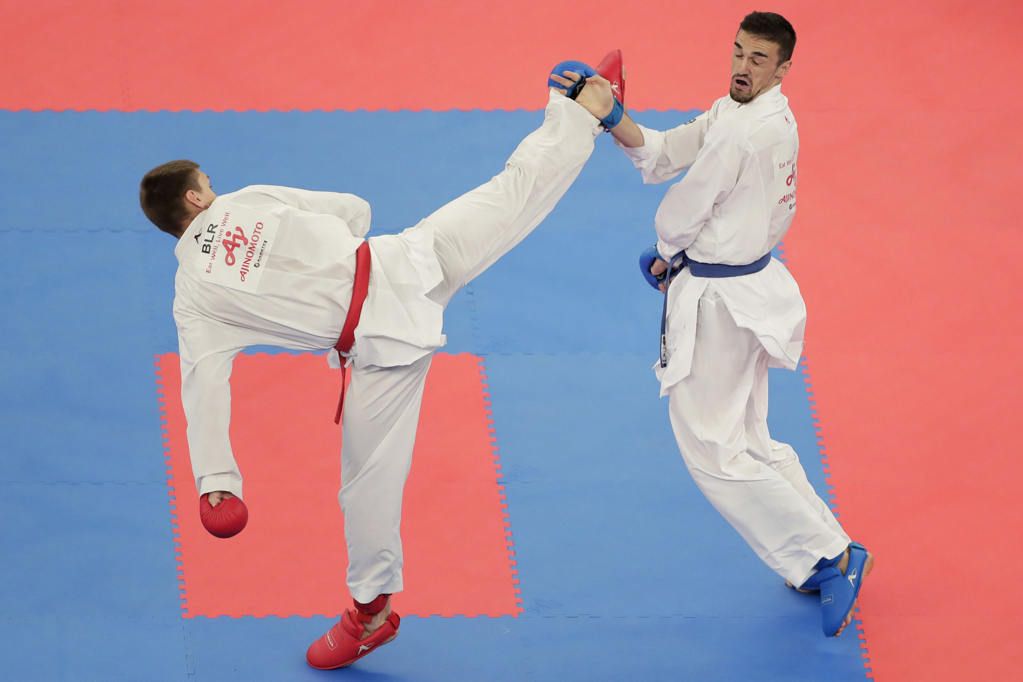 Karate's Olympic debut at Tokyo 2020 took place at the Nippon Budokan ©Getty Images