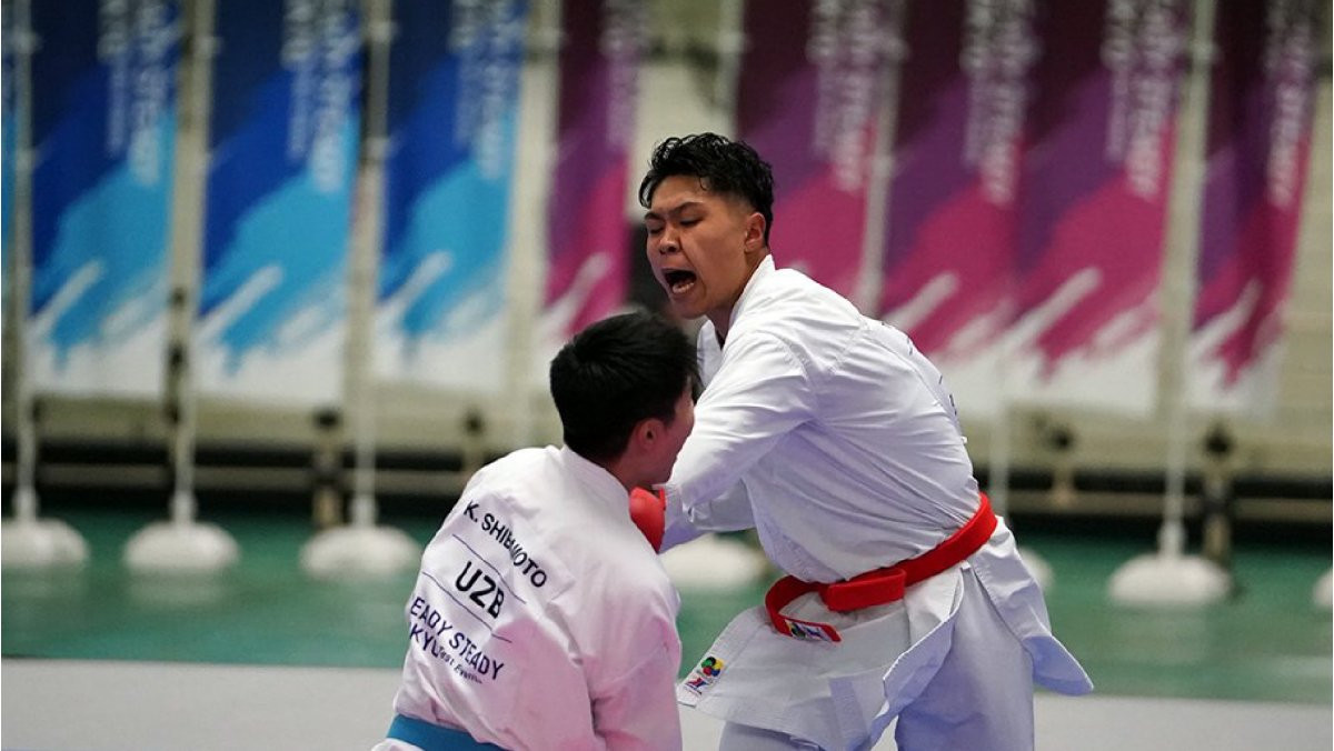 The Budokan hosted the Olympic test event ©WKF