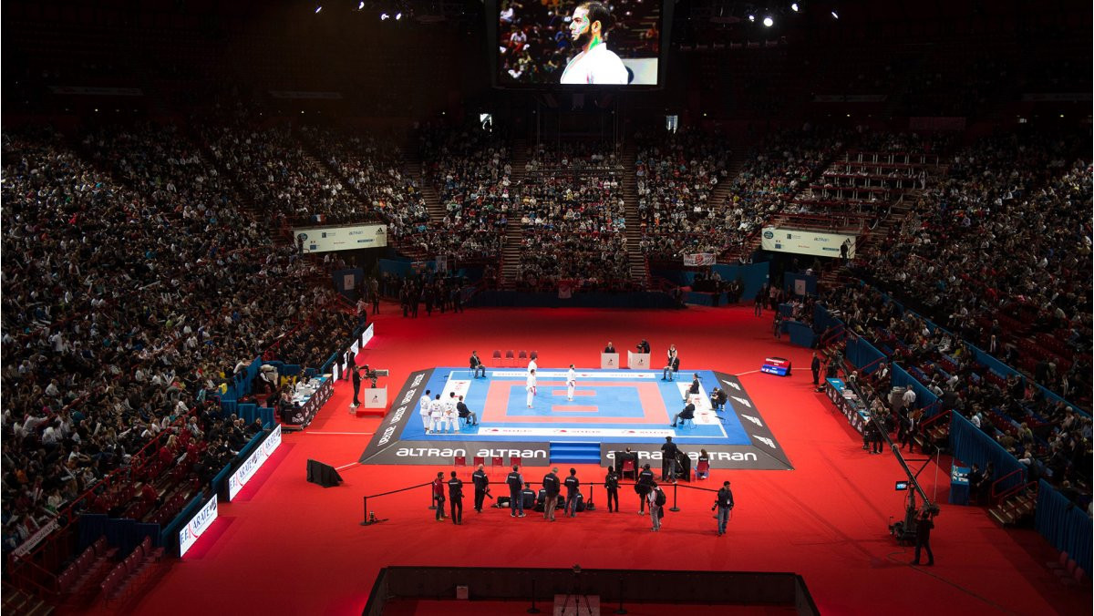 Paris was due to host karate's Olympic Qualification Tournament in 2020, which has now been rearranged ©WKF