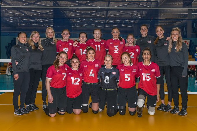 Canada opened their home event with two victories ©Volleyball Canada