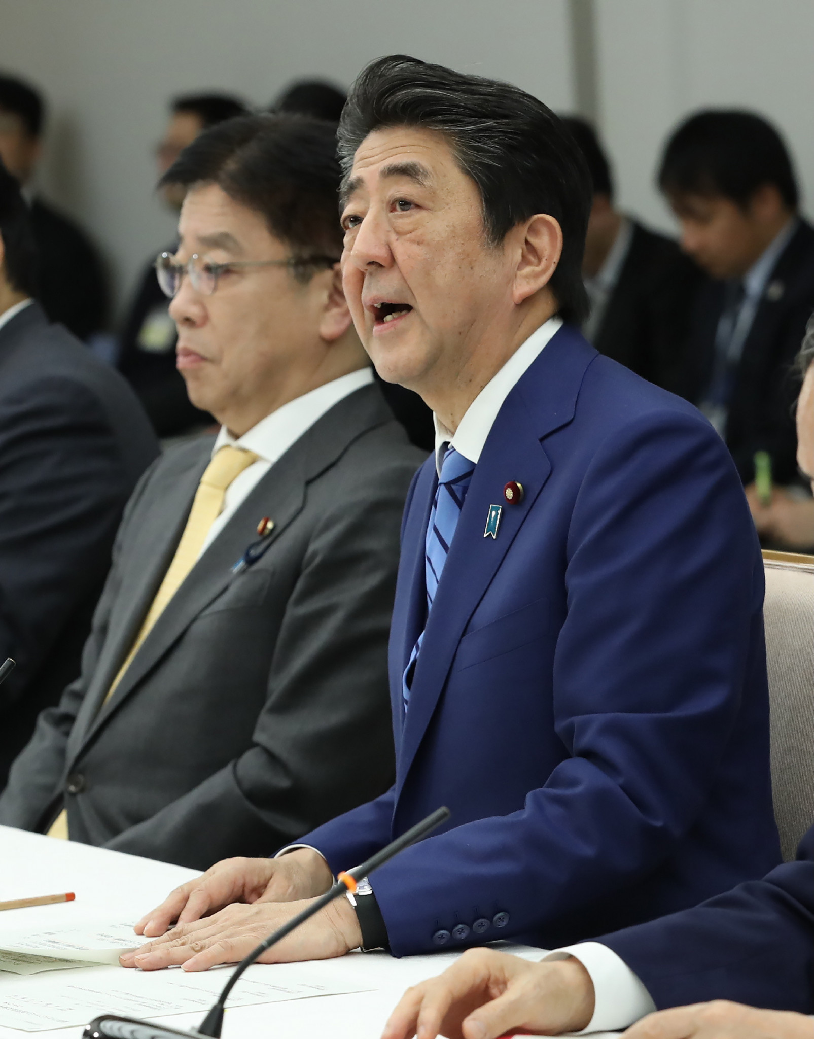 Japan's Prime Minister Shinzō Abe said the first weeks of March would be an