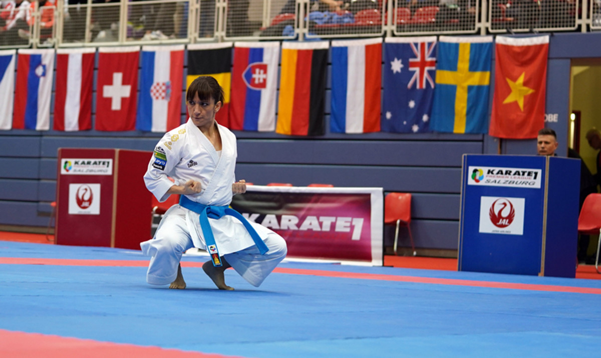 Kata, a non-contact discipline of karate, will offer two of the sport's eight Olympic titles later this year ©Getty Images