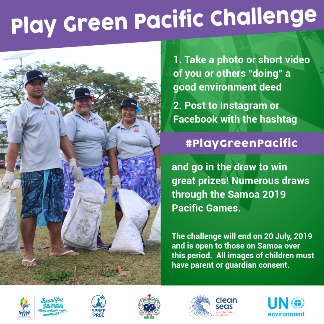 A number of major initiatives were undertaken by Samoa 2019 to ensure the event was the