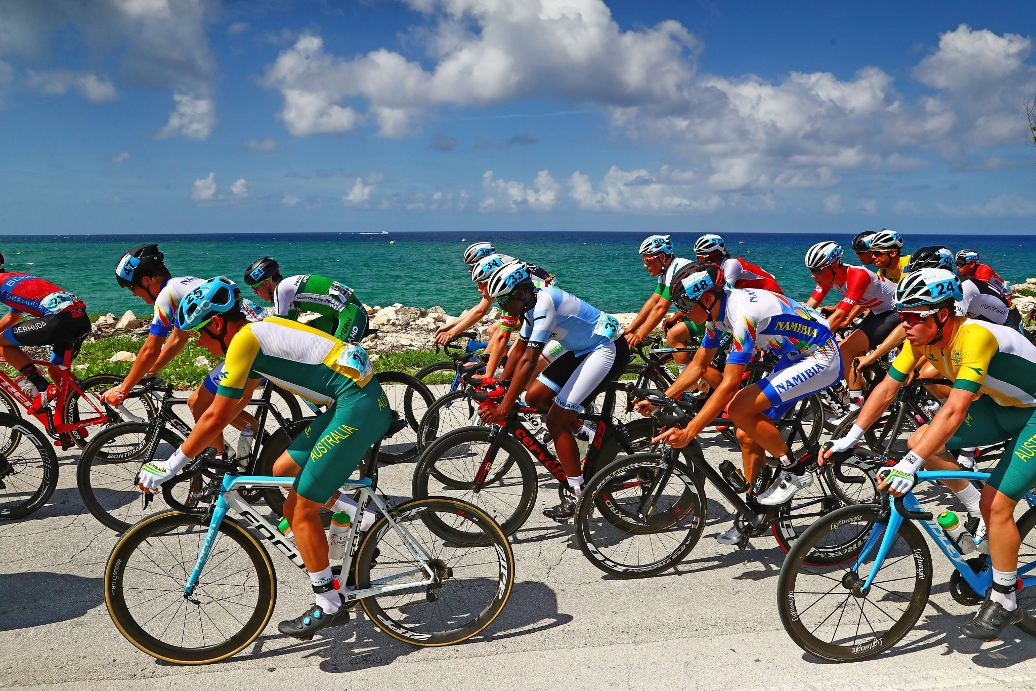 Cycling road races, time trials and track competition will feature at the Games ©Getty Images