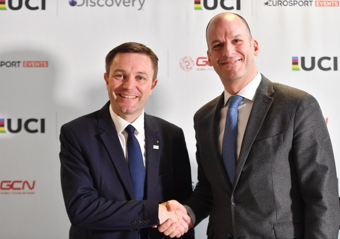 The UCI and Discovery have partnered to launch the UCI Track Cycling World League ©UCI