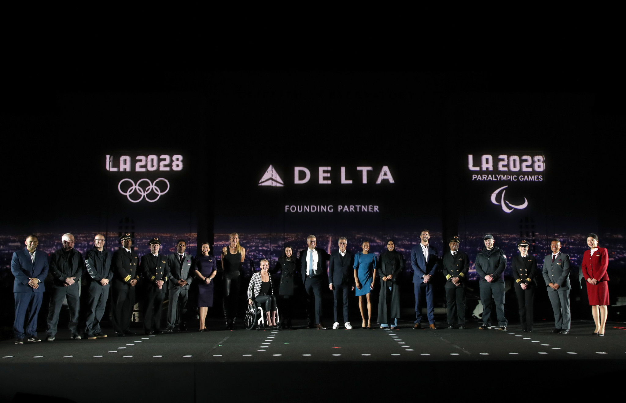 Delta Air Lines has signed-up as the inaugural founding partner of the Los Angeles 2028 Olympics and Paralympics ©Getty Images