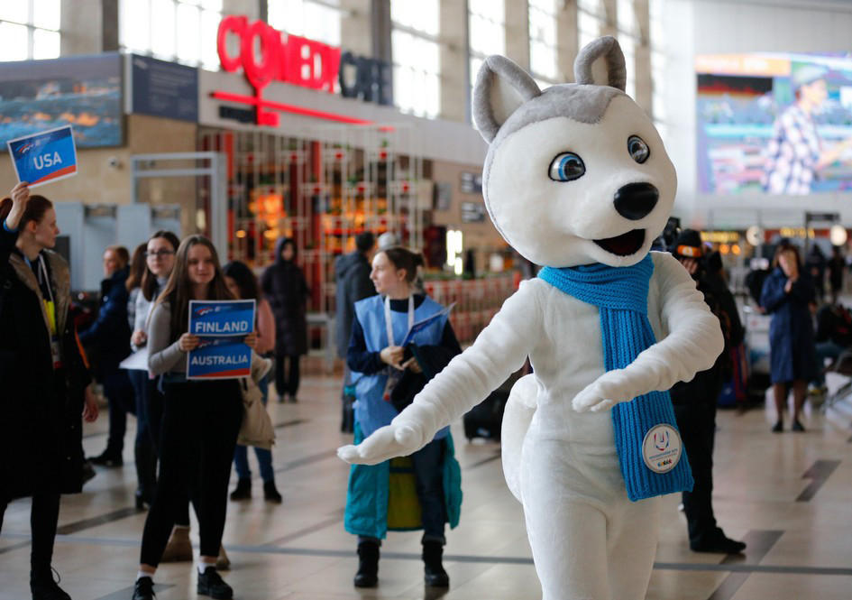 Krasnoyarsk 2019 one-year anniversary celebrated at FIS Freestyle World Cup