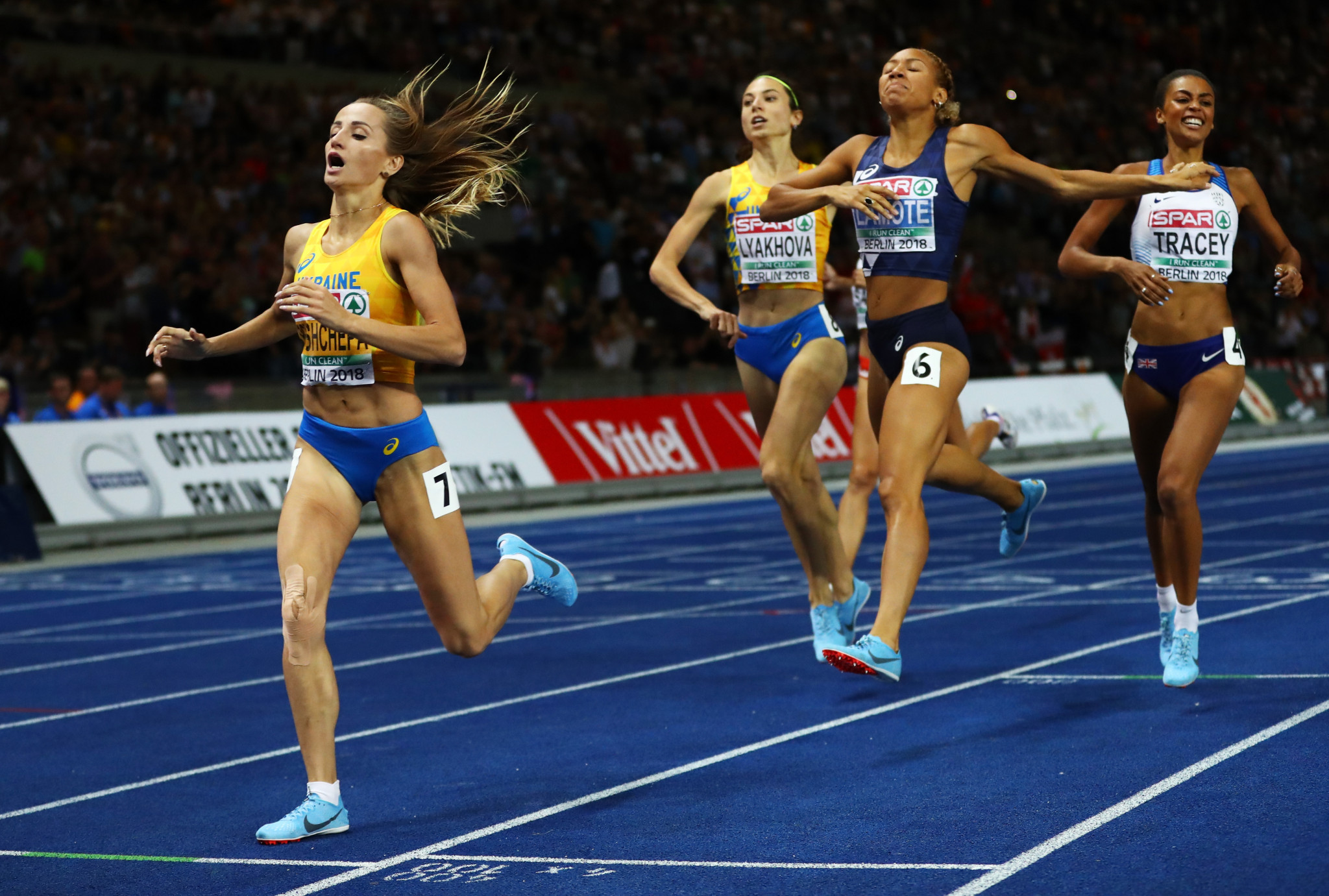 Nataliya Krol is the two-time reigning European champion in the women's 800m ©Getty Images
